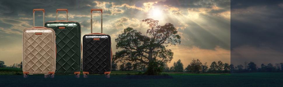 ストラティック スーツケース レザー&モア 軽量 大型 ヒノモト おしゃれ かわいい