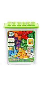 LeapBuilders 81-Piece Jumbo Blocks Box