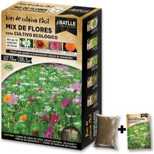 Mix de flores para cultivo ecológico