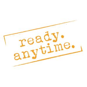 Sei allzeit und jederzeit bereit