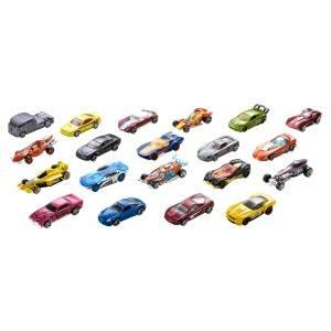 Hot Wheels Pack de 20 vehiculos, coches de juguete (modelos ...