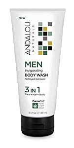 body face hair wash for men 3 in 1