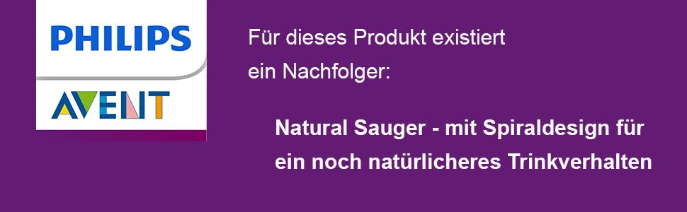 Philips Avent SCF652//27 Naturnah-2-Loch Sauger langsamer Nahrungsfluss