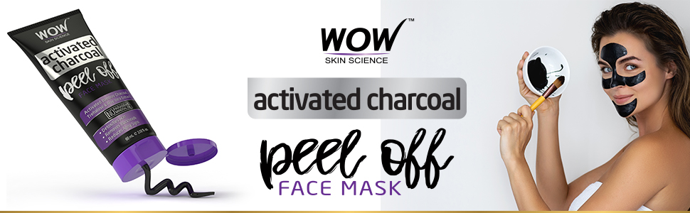 WOW SKIN SCIENCE CHARCOAL PEEL OFF