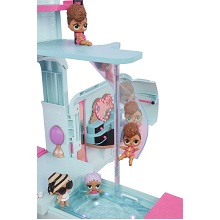 lol surprise glamper; barbie dream car; camping van