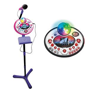 VTech – Kidi SuperStar LightShow rose – Micro Karaoké Enfant ...