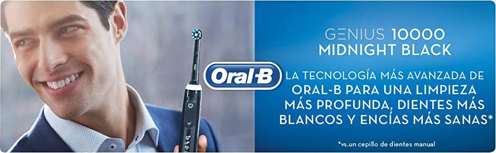 Oral-B Genius 10000N CrossAction - Cepillo Eléctrico, 1 Negro ...