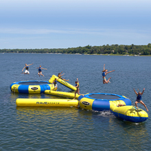 attachments, add ons, extras for your water trampoline