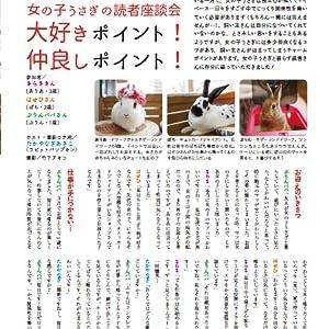 うさぎと暮らす うさぎの雑誌 うさくら USAKURA ペット情報誌 ペットの雑誌 小動物 らびっと ラビット 藤田育代 ポストカード