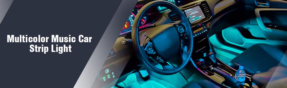 Nilight car LED strip light