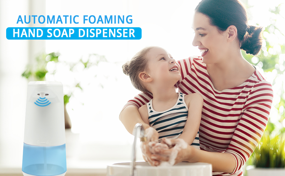 soap dispenser, automatic soap dispenser, wbm soap dispenser, wbm foaming soap dispenser