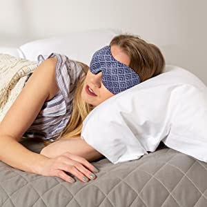 travel blue eye mask,sleep atlas,rest up sleep aid,blue light sleep mask,bucky,buckies,perfect sleep
