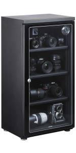 【Amazon.co.jp限定】 HAKUBA 電子防湿庫 E-ドライボックス 128リットル KED-130