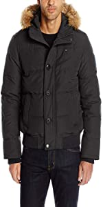 Men s Arctic Cloth Quilted Snorkel Bomber Jacket w  Removable Faux Fur Hood  · Tommy Hilfiger Men s Poly Twill Full-Length Hooded Parka · Men s Ultra  Loft ... b63e22b71a