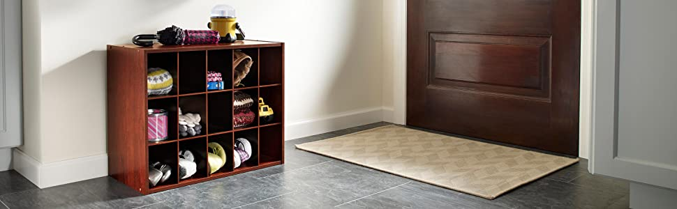 stackable shoe organizer, shoe storage, cherry storage, cube organizer