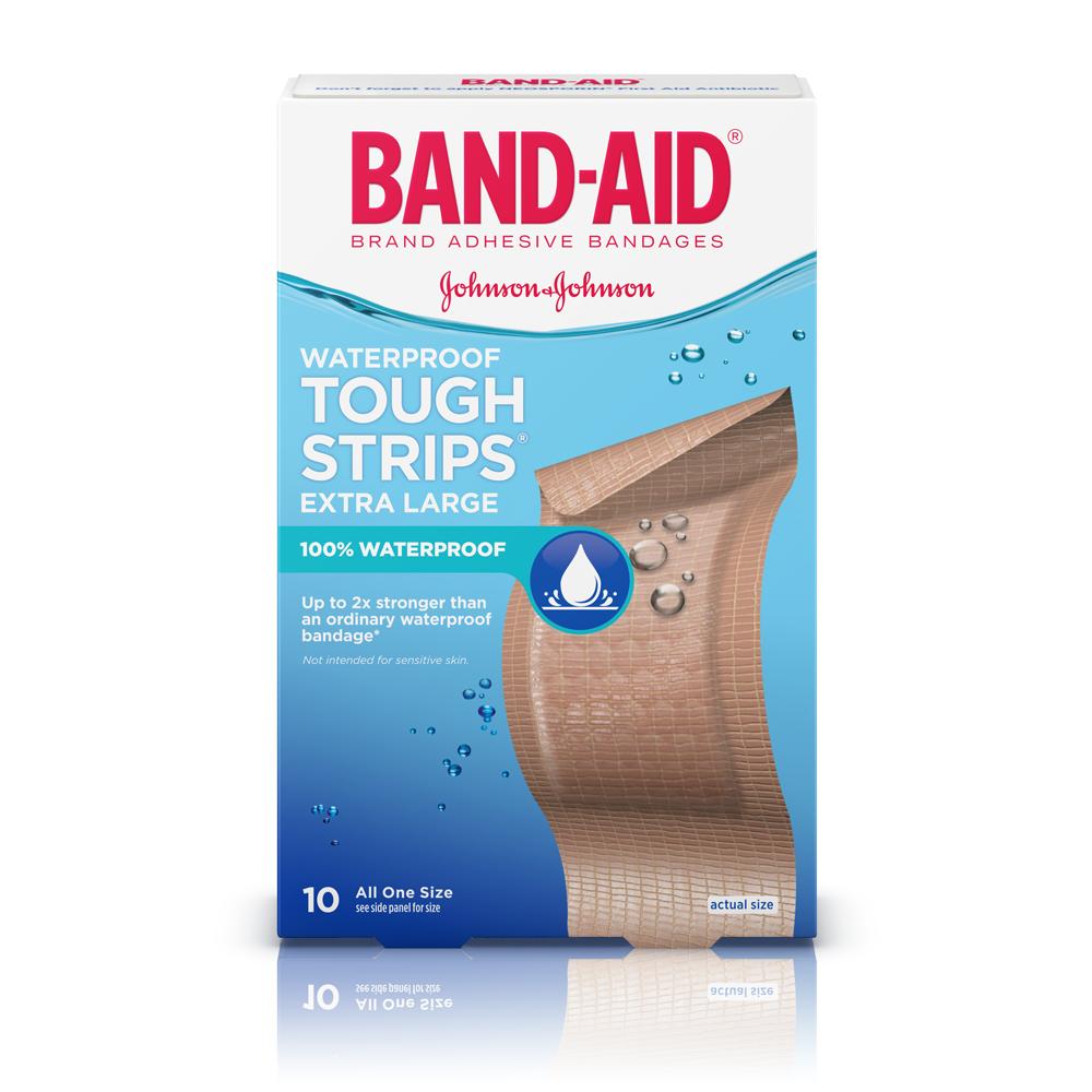Band aid adhesive