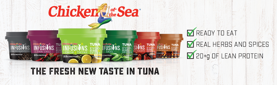 Chicken of the Sea, tuna, ready to eat