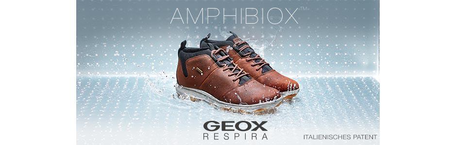 Geox Respira Mayrah ABX Stiefelette in schwarz Amphibiox