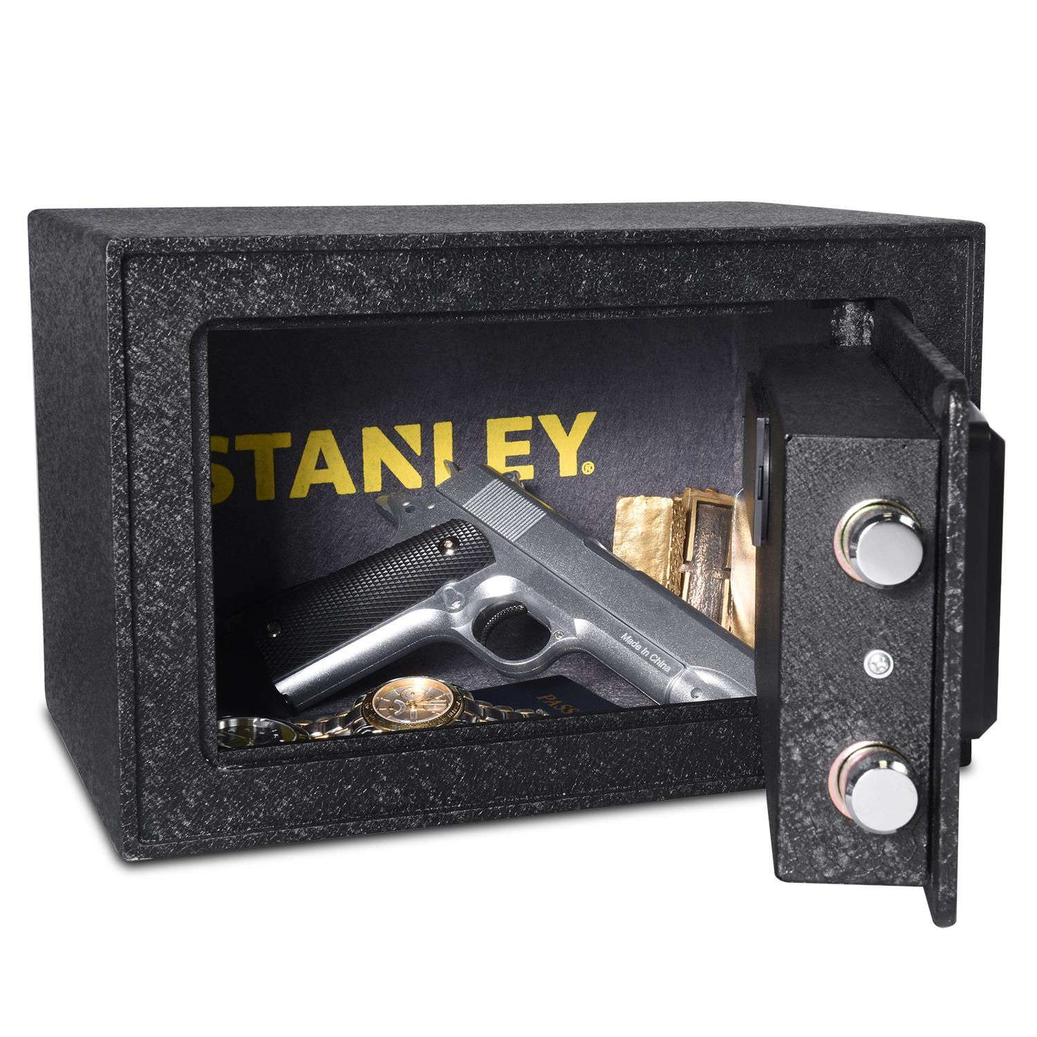 Amazon Com Stanley Solid Steel Biometric Personal Home