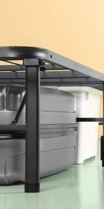 Zinus - Menta, colchón viscoelástico de 150x200x25cm ...