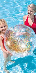 Intex Glitter Beach Balls