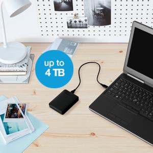 WD, WD Elements, Portable Storage, Desk, Lifestyle