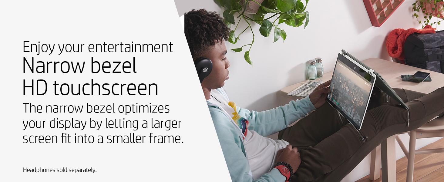 small frame screen pinch zoom swipe
