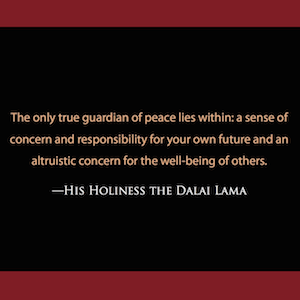 quote, quotation, wisdom, truth, teaching, peace, inner peace, others, service, selfless
