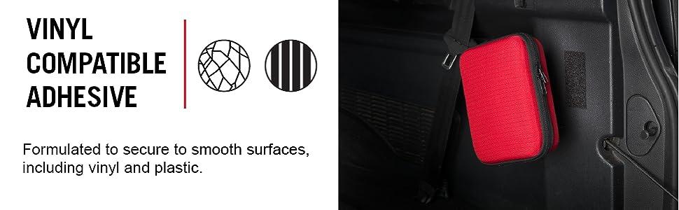 Velcro Heavy Duty, Heavy Duty fastener, car mounting fastener, car organizer, vinyl