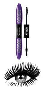 f85623ffc20 Amazon.com : L'Oréal Paris Makeup Voluminous X Fiber Mascara with ...