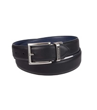 reversible leather mens belt