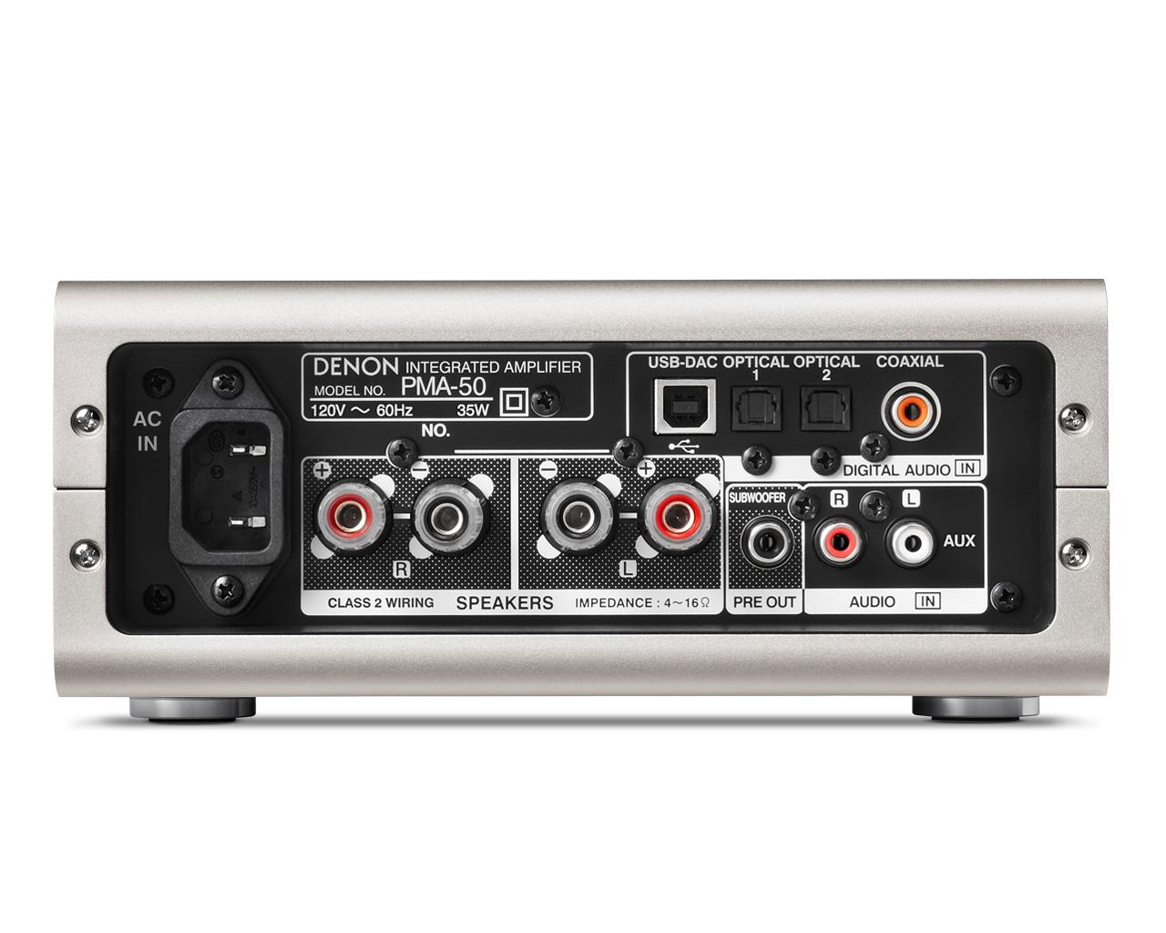 Denon Pma 50 Compact Digital Amplifier Home Audio Theater Circuit Channel Power Electronic Car Ignition View Larger
