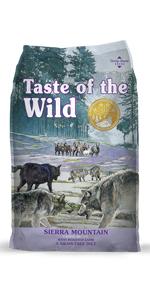 Sierra Mountain, Lamb Dog Food, Single Source Protein