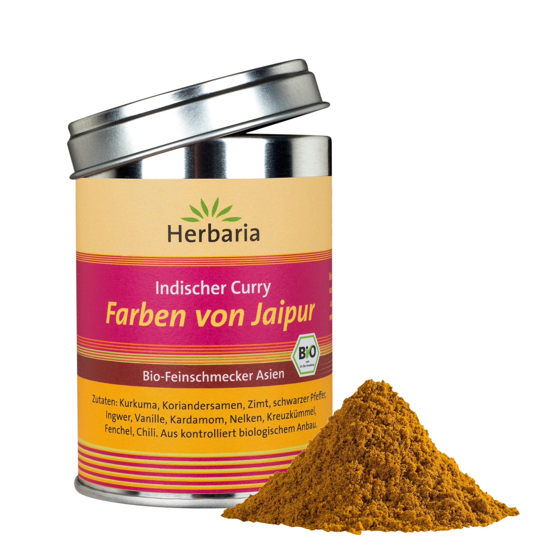 Herbaria Farben Von Jaipur Indischer Curry 1er Pack 1 X 80 G