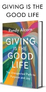 giving randy alcorn books devotionals christian books about heaven gratitude generosity generostiy