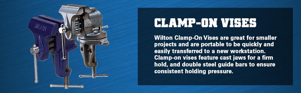 Clamp-On Vises
