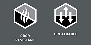 Odor resistant and breathable icons