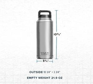 954ad8dd1a6 Amazon.com: YETI Rambler 36oz Vacuum Insulated Stainless Steel ...