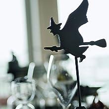 魔女 こうもり コウモリ 飾り付け オーナメント 印象 話題