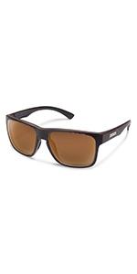 rambler suncloud polarized brown lenses durable anti reflective