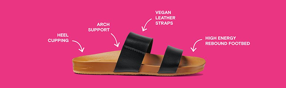 Cushion Bounce, sandal, cushion, comfort, support, reef