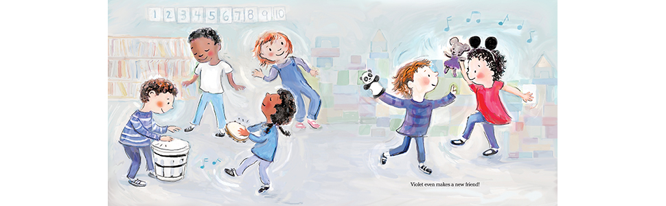 separation anxiety; mothers and daughters; preschool; ballet; first day of school; picture book