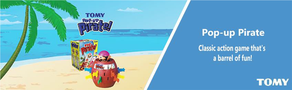 Tomy Pop-up pirate - Banner