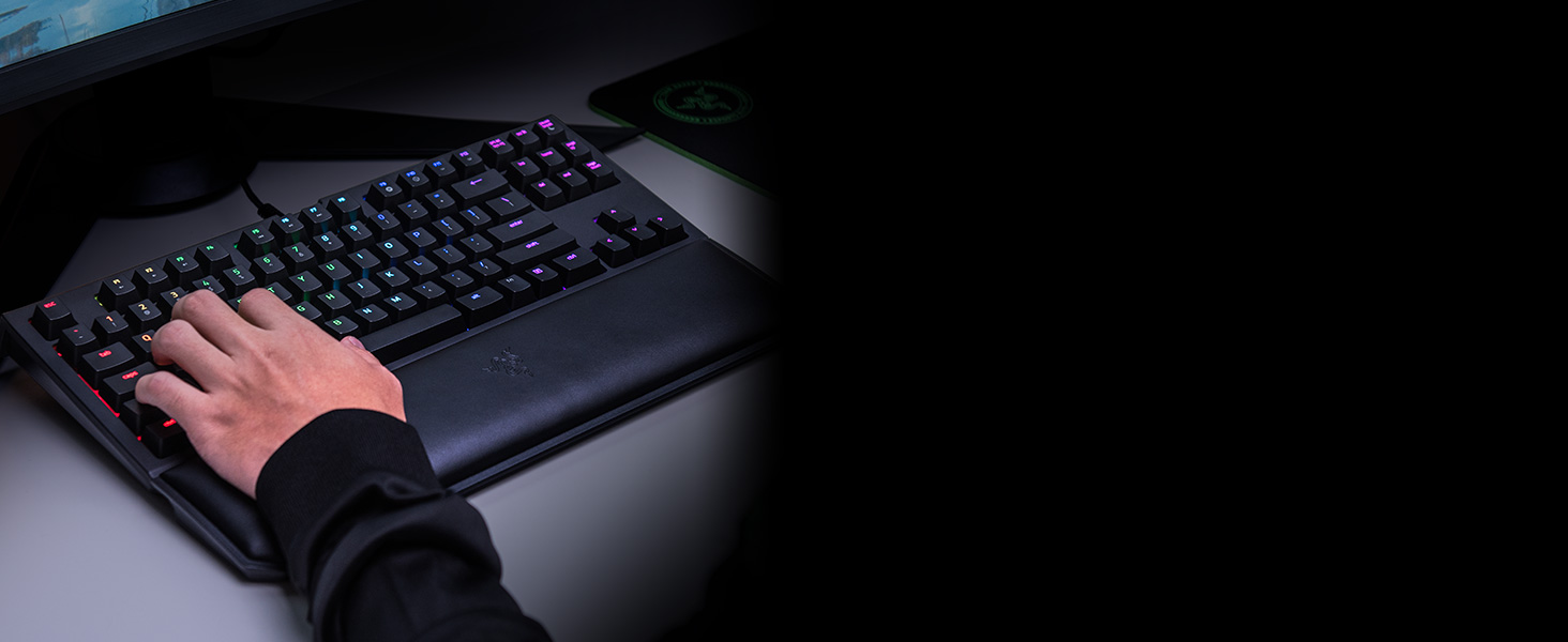 Razer Blackwidow Tournament Edition Chroma V2 Linear And Silent Yellow Switch