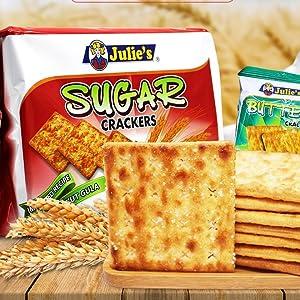 Julie's Sugar Crackers