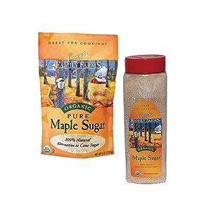 organic maple sugar secret ingredient sweetener sugar substitute