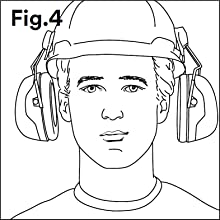 ear muff, noise protection