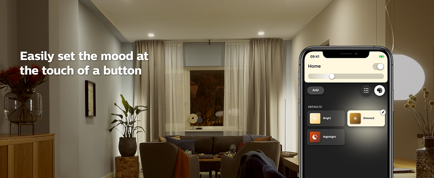 Philips Hue Dimmed