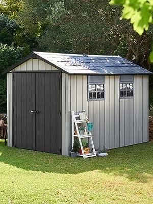 keter oakland storage shed outdoor large