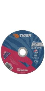 "6"" Tiger AO Cutting Wheels"